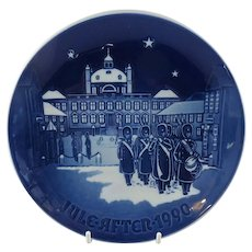 """1990 Bing and Grondahl Christmas Plate """"The Changing of the Guards"""" B&G Denmark"""