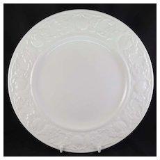 Myott Staffordshire Ironstone Dinner Plate Embossed Fruit