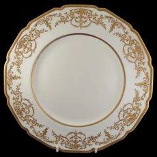 Gorgeous Royal Doulton Gold Encrusted Plates