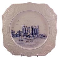 Pickard Chicago Centennial Plate 1933