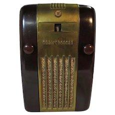 "Westinghouse H127 ""Little Jewel Refrigerator""  Tube Radio (1947)"