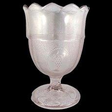 EAPG Beaded Grape Medallion Spooner c. 1869