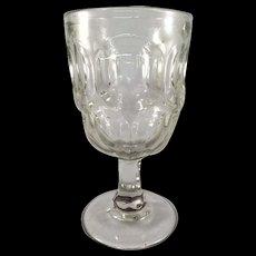 EAPG Ashburton, Talisman Goblet c. 1840s to 1880s.