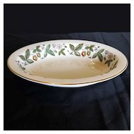 Vintage Wedgwood Bone China STRAWBERRY HILL Vegetable Bowl