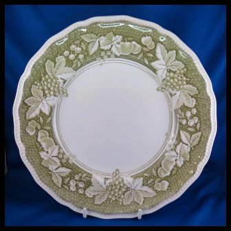 Somerset by Kensington Staffords Dinner Plate, Ironstone England