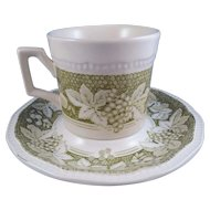 Somerset by Kensington Staffords Cup & Saucer Set, Ironstone England