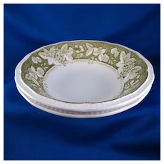 Somerset by Kensington Staffords Cereal Bowls (set of 2), Ironstone England