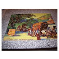 Wonderful Vintage Advertising Puzzle - Lipton Tea 1933 - Complete with Envelope!