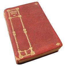 Miniature Book - Ca. 1900 - English Idylls by Alfred, Lord Tennyson
