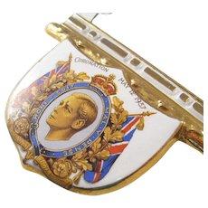 Unusual Edward VIII Royal Coronation Ashtray - 1937