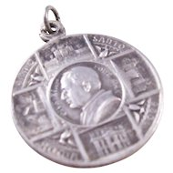 Vintage Holy Year Catholic Medal - 1925, Pius XI