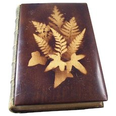 Fantastic Victorian Fernware book - 1871 Poetical Works of John Milton