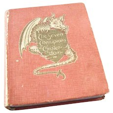 True Miniature Book - The Seven Champions of Christendom, 1899