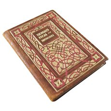 Miniature Book - ca. 1910 - A Calendar of Thoughts from Browning