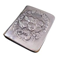 Edwardian Miniature Book of Common Prayer with Sterling Silver Reynold's Angels Cover