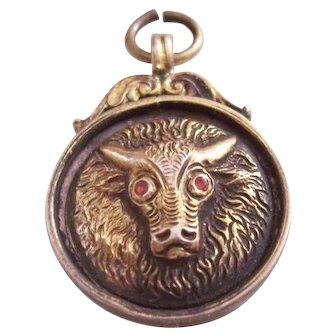 English Watch Fob - Sterling, 1920 - Lodge Attendance Prize