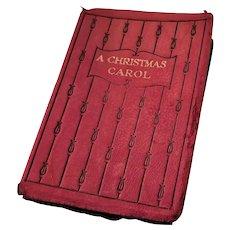 Charming Miniature Book - A Christmas Carol,  ca. 1905