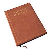 Miniature Book - The Dream of Gerontius, ca. 1910