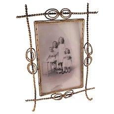Antique Victorian Aesthetic Photo Frame - all original