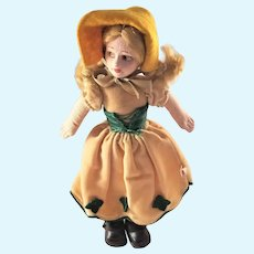 Sweet Vintage Norah Wellings Felt Doll - Cinderella