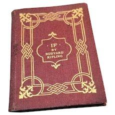 Vintage Miniature Book - Kipling's Verses Miniature Series - 1943