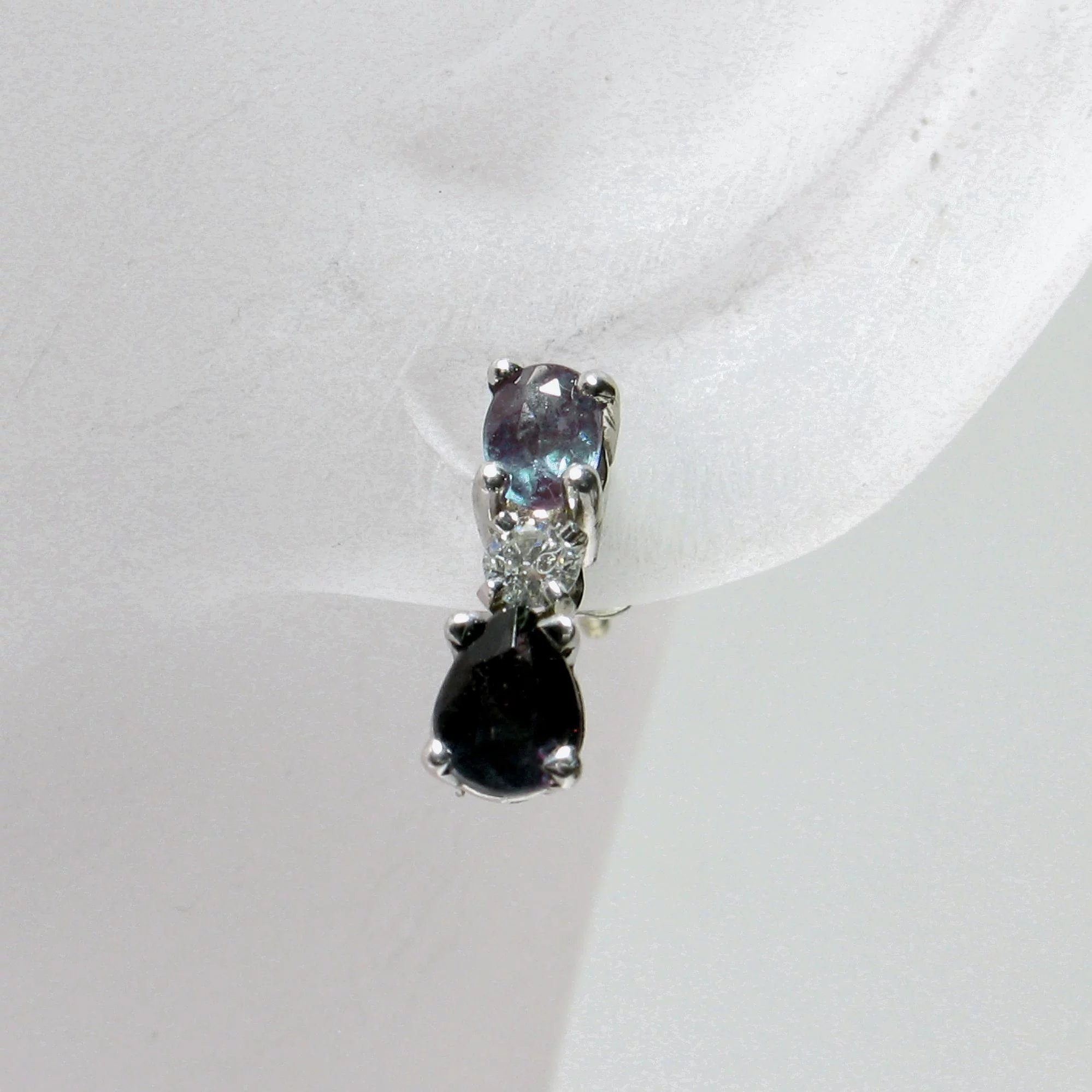 oval alexandrite stud carat natural pair prodetail matched buy