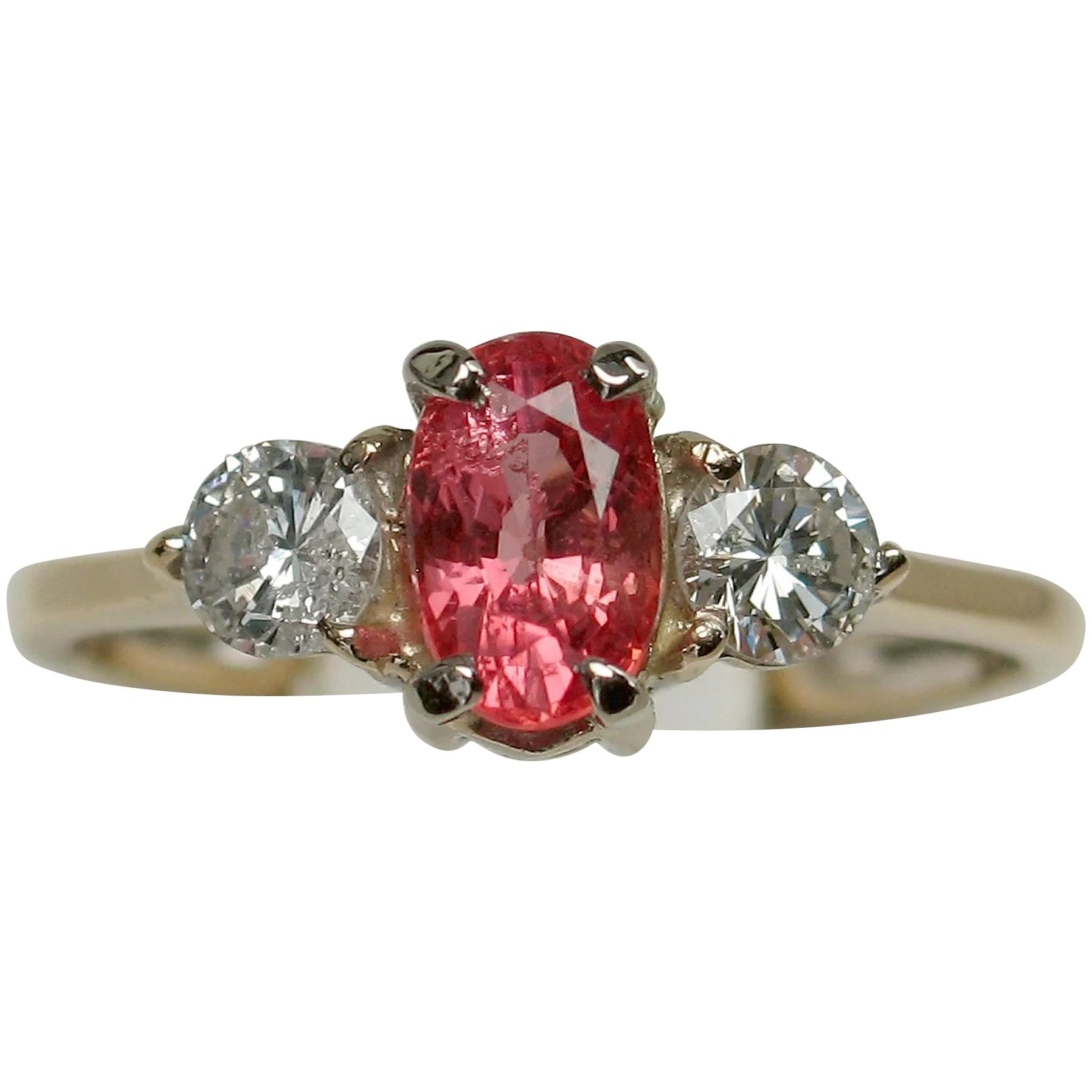 lotus natural ring engagement diamond item ruby mcclelland rings platinum mcteigue b