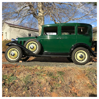 1932 Chevrolet Touring Sedan