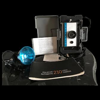 Polaroid 210 Land Automatic Camera