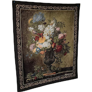 Wall Hanging picture of a vase holding beautiful flowers