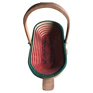Trivet / Basket Handmade in 1988 by Grandpa