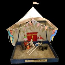Schoenhut Reduced Size Humpty Dumpty Circus Set - Many Extras