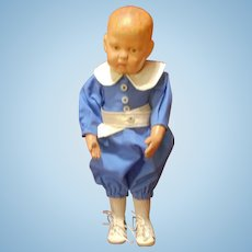 "Schoenhut 1417 Doll with ""Walkable Body"""