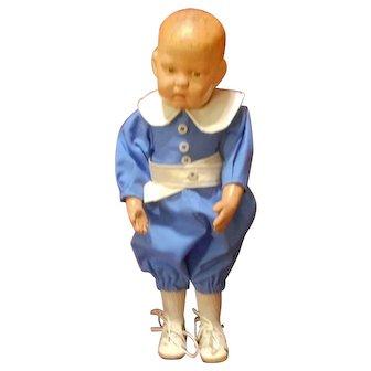 "Schoenhut 1417 14 Inch Doll with ""Walkable Body"""