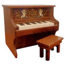 Schoenhut Reproduction Music Box Piano and Bench (Convention Souvenir)