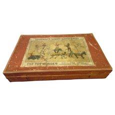 Schoenhut 20/36 Circus Set Wood Box  Extremely Rare