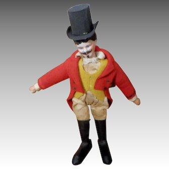 Schoenhut Humpty Dumpty Circus Ringmaster with Bisque Head
