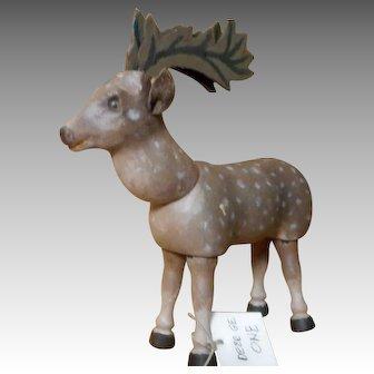 Schoenhut Teddy Roosevelt African Safari Deer ONE with Glass Eyes