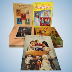 4 Great Doll Books And 1 Pamphlet