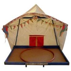 Schoenhut Humpty Dumpty Circus Large Menagerie Tent