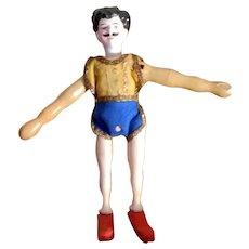 Schoenhut Humpty Dumpty CIrcus Gent Acrobat with Bisque Head