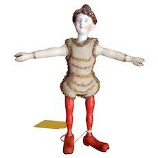 Schoenhut Humpty Dumpty Circus Lady Acrobat  Green