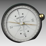 Vintage Craftsman Surveyors Compass in Original Box