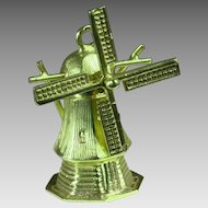 14K Windmill Charm