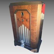 1934 E. H. Scott Allwave Console Radio