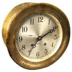 "6"" Chelsea Ships Clock, Circa 1960's"