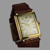 18k Gold Patek Philippe Wrist Watch ... Ca: 1960's