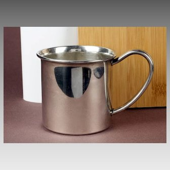 Lunt Sterling Silver Baby Cup - Winnie the Pooh - Disney