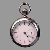 18 Size Elgin National Watch Co. in a Coin Case - Ca: 1884