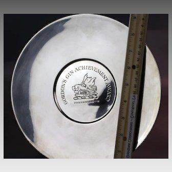 Sterling Tiffany & Co. Achievement Award Platter